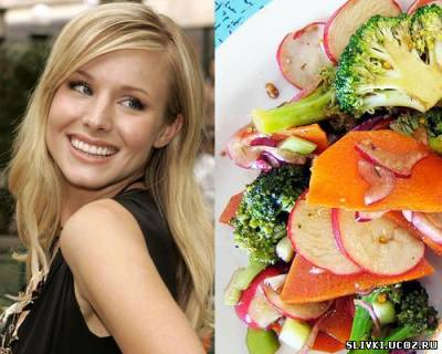 Овощной салат «Всякая всячина» от Кристен Белл