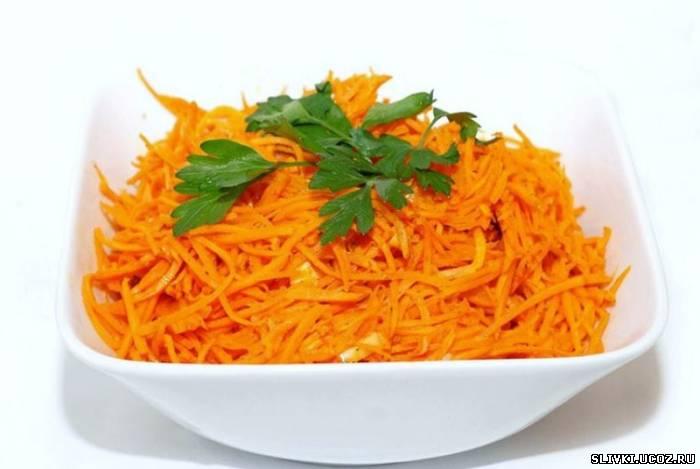 Морковь по-корейски салатов